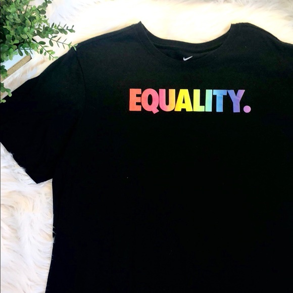 85dbc2b5 Nike Shirts | Nwt Equality Betrue Collection Rainbow Lgbt | Poshmark